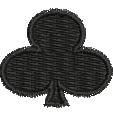 Club embroidery design