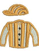 Jockey Colors embroidery design