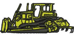 Dozer embroidery design
