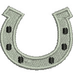 Lucky Horseshoe embroidery design