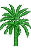 Date Palm embroidery design