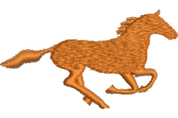 Wild Brumby embroidery design