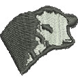 Cows Head embroidery design