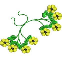 Daisy Corner embroidery design