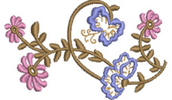 Flower Pattern embroidery design