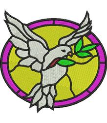Dove of Peace embroidery design