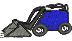 Mini Digger embroidery design
