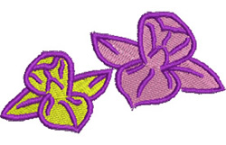 Ornamental Flowers embroidery design