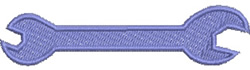 Spanner embroidery design