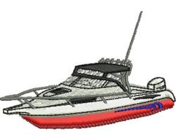 Sea Cruiser embroidery design