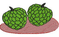Sweetsop embroidery design