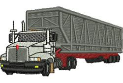 Bulk Bin Carrier embroidery design