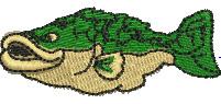 Cod embroidery design