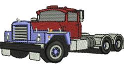 Mack Truck embroidery design