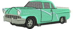 Utility Truck embroidery design