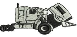 Truck Mechanic embroidery design
