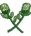 Thistle Border embroidery design