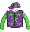 Jockey Silks embroidery design