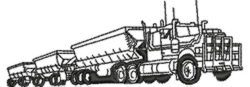 Haulage Truck embroidery design