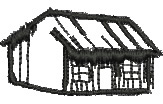 Country Cabin embroidery design