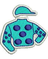 Jockey Silks embroidery design