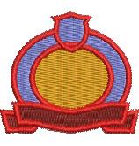 Honor Board Crest embroidery design