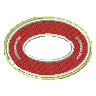 Oval Crest embroidery design
