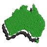 Australia Crest embroidery design