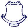 School Crest embroidery design