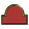 Large Crest embroidery design