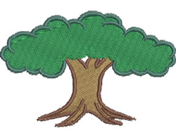 Shade Tree embroidery design