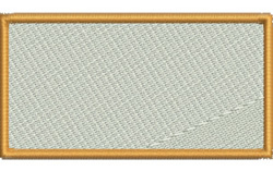 Filled Rectangle embroidery design