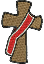 Deacons Cross embroidery design