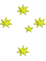 Southern Cross embroidery design