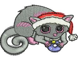 Christmas Possum   embroidery design