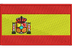 Flag of Spain embroidery design