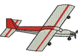 Light Aircraft embroidery design