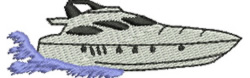 Speed Cruiser embroidery design