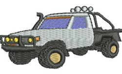 Off Road Vehicle embroidery design