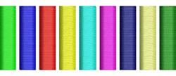 Nine  Needle Test Pattern embroidery design