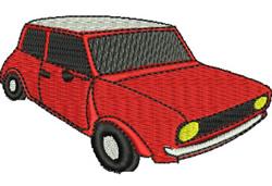 Mini  Car embroidery design
