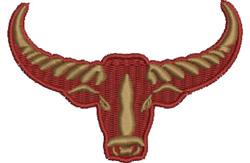 Water Buffalo embroidery design