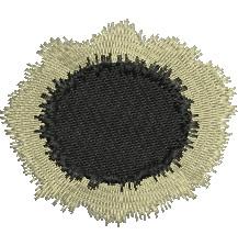 Solar Eclipse embroidery design