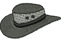 Mesh Hat embroidery design