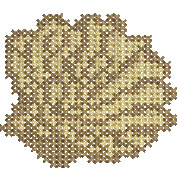 Fan Shell embroidery design