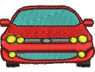 Sedan embroidery design