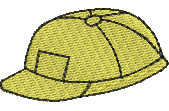 Hardhat embroidery design