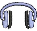 Safety Earmuffs embroidery design