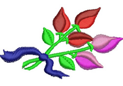 Bunch of Roses embroidery design