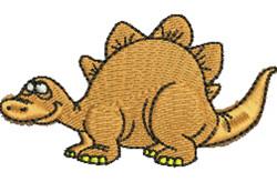 Cartoon Dinosaur embroidery design